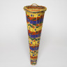 Hanging waste basket, Lois Walpole, 1992-93, Crafts Council Collection: W134. Photo: Todd-White Art Photography.