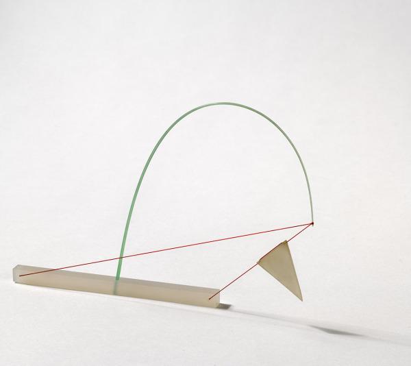 Plastic Flag Bracelet, Pierre Degen, 1980, Crafts Council Collection: J117. Photo: Todd-White Art Photography.