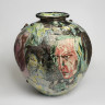 Mad Kid's Bedroom Wall Pot, Grayson Perry, 1996, Crafts Council Collection: P442. Photo: Todd-White Art Photography.
