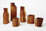 Mugs and Bottles, Simon Hasan, 2010, Crafts Council Collection: HC1058-HC1063. Photo: Stokes Photo Ltd