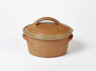 Oval Casserole, Andrew and Joanna Young, 1984. Crafts Council Collection: P363a. Photo: Stokes Photo Ltd.