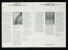 Leaflet, In Line: Jewellery by Eric Spiller and Hangings by Warren Seelig, Crafts Advisory Committee, 1978, Crafts Council Collection: AM342. © Crafts Council