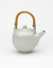Teapot and Lid with Cane Handle, David Leach, 1976, Crafts Council Collection: P126. Photo: Relic Imaging Ltd
