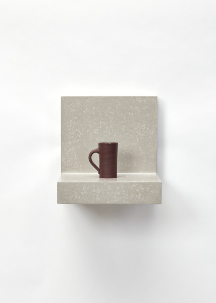 Cup on a Floating Ground I, Julian Stair, 2018. Crafts Council Collection: 2019.19. Photo: Stokes Photo Ltd.
