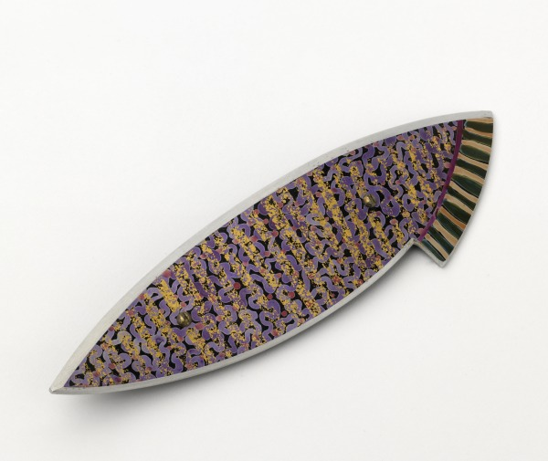 Brooch, Jane Adam, 1991, Crafts Council Collection: J218. Photo: Todd-White Art Photography.
