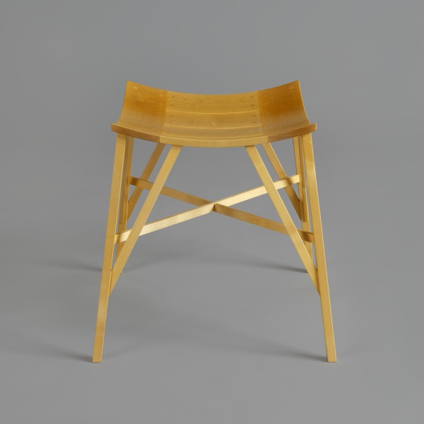 S9 Production Stool, David Wolton, 1996, Crafts Council Collection: W112. Photo: Todd-White Art Photography.