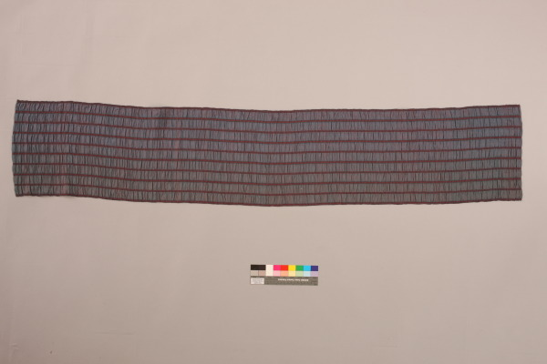 Elastic Seersucker, Ann Richards, 1988, Crafts Council Collection: T114. Photo: Heini Schneebeli.