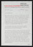Press Release, Ten British Potters, Crafts Advisory Committee, 1972, Crafts Council Collection: AM226. © Crafts Council