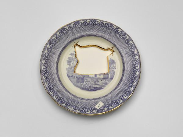 Scott's Cumbrian Blues, Paul Scott, 2012, Crafts Council Collection: 2013.6:3. Photo: Todd-White Art Photography.