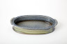 Long Oval Serving Dish, Jane Hamlyn, 1987. Crafts Council Collection: P386. Photo: Stokes Photo Ltd.