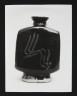 Photograph, 'Slab Bottle' by Bernard Leach, photographer Geremy Butler, c.1972. Crafts Council Collection: AM183.