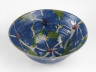 Blue Flower Bowl, Janice Tchalenko, 1985, Crafts Council Collection: P374. Photo: Todd-White Art Photography.