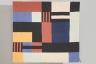 Woven Calico Rug, Sally Hampson, 1984, Crafts Council Collection: T87. Photo: Heini Schneebeli.
