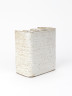 Pot with Deeply Corrugated Front, Joanna Constantinidis, 1972, Crafts Council Collection: P27.  Photo Stokes Photo Ltd.