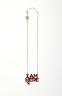 I AM HERE Necklace (1/50), Tatty Devine, Crafts Council Collection: 2018.13. © TATTY DEVINE. Photo: Stokes Photo Ltd.