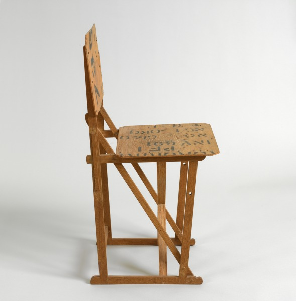 Prototype XL1 Chair, Michael Marriott, 1991, Crafts Council Collection: W100. Photo: Todd-White Art Photography.