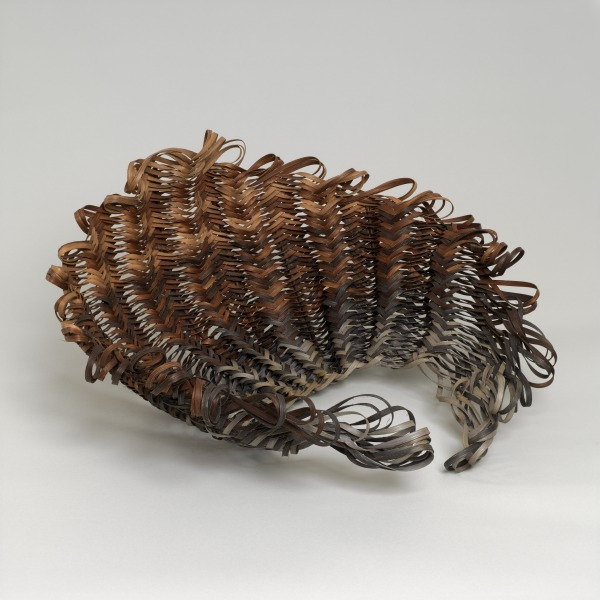 On the Brink, Shuna Rendel, 1997, Crafts Council Collection: W129. Photo: Todd-White Art Photography.