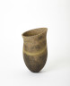 Dark Mottled Pot, Jennifer Lee, 1990. Crafts Council Collection: P389. Photo: Stokes Photo Ltd.