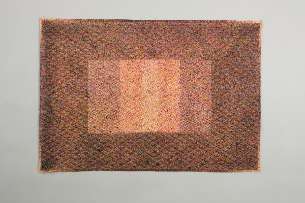 Quilted Wall Hanging, Diana Harrison, 1979, Crafts Council Collection: T11. Photo: Heini Schneebeli.