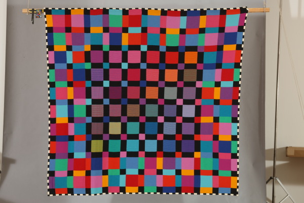 Knitted Blanket, Barbara Brown, 1984, Crafts Council Collection: T73. Photo: Heini Schneebeli.