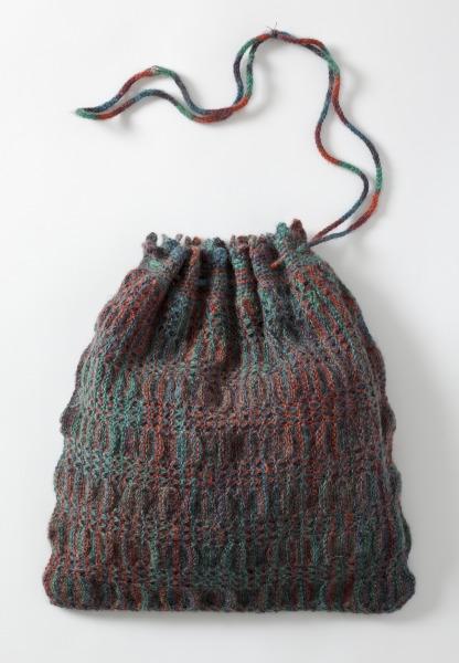 Knitted Handbag, Anne Fewlass, 1979, Crafts Council Collection: T37. Photo: John Hammond