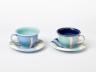 Cup and Saucer, Sabina Teuteberg, 1992. Crafts Council Collection: P418. Photo: Stokes Photo Ltd.