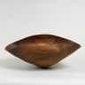 Brown Oak Vessel, Anthony Bryant, 1996, Crafts Council Collection: W120. Photo: Todd-White Art Photography.