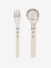 Dessert Fork and Dessert Spoon, 1974, Crafts Council Collection: M7d and M7c. Photo: Stokes Photo Ltd.