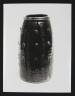Photograph, 'Incised Jar' by Bernard Leach, photographer Geremy Butler, c.1972. Crafts Council Collection: AM184.