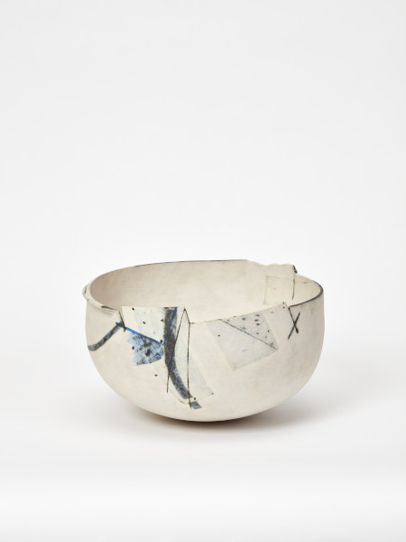 Painting in the Form of a Bowl, Gordon Baldwin, 1984, Crafts Council Collection: P349. Photo: Stokes Photo Ltd.
