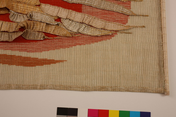 Encrusted Goldhanging, Theo Moorman, Crafts Council Collecton: T163. Photo: Heini Schneebeli.