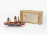 Box with 'Couple Boat' or 'A Dream Lasts Longer', Sam Smith, 1972 - 1973, Crafts Council Collection: W1a. Photo: Stokes Photo Ltd.