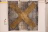 Yellow Cross, Diana Harrison, 1991, Crafts Council Collection: T109. Photo: Heini Schneebeli.