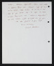 Letter from Vanessa Robertson to Caroline Pearce-Higgins, 8 December 1976, Crafts Council Collection: AM202. © Vanessa Robertson