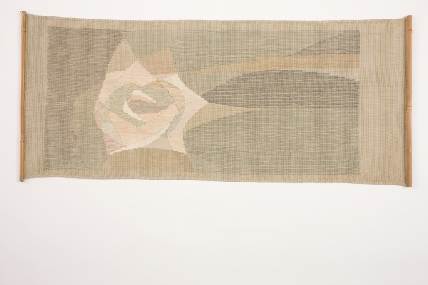 The Rose Hanging, Theo Morman, 1960s, Crafts Council Collecton: T162. Photo: Heini Schneebeli.