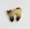 Siamese Cat Brooch, Cicada, 1973-76, Crafts Council Collection: J37. Photo: Todd-White Art Photography.