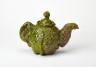 Cabbage Teapot, Jill Crowley, 1974, Crafts Council Collection: P206.1,P206.2. Photo: Stokes Photo Ltd.