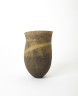 Dark Mottled Pot, Jennifer Lee, 1990. Crafts Council Collection: P389. Photo: Stoke Photo Ltd.