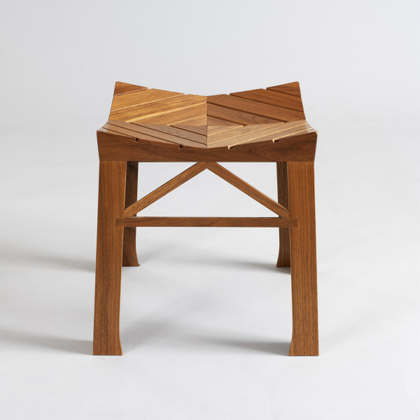 S3 Production Stool, David Wolton, 1996, Crafts Council Collection: W110. Photo: Todd-White Art Photography.