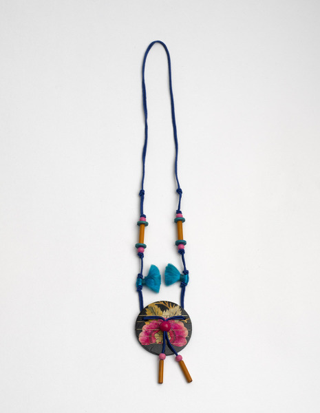 Oriental Pendant, Ziza, 1976, Crafts Council Collection: J105. Photo: Todd-White Art Photography.