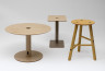 Plytube Tables and Stool, Seongyong Lee, 2010. Crafts Coouncil Collection: HC1050, 2013.9, 2013.7.