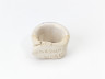 White Earthenware Sample, Joanna Constantinidis, c. 1990, Crafts Council Collection: HC169.  Photo: Relic Imaging Ltd.