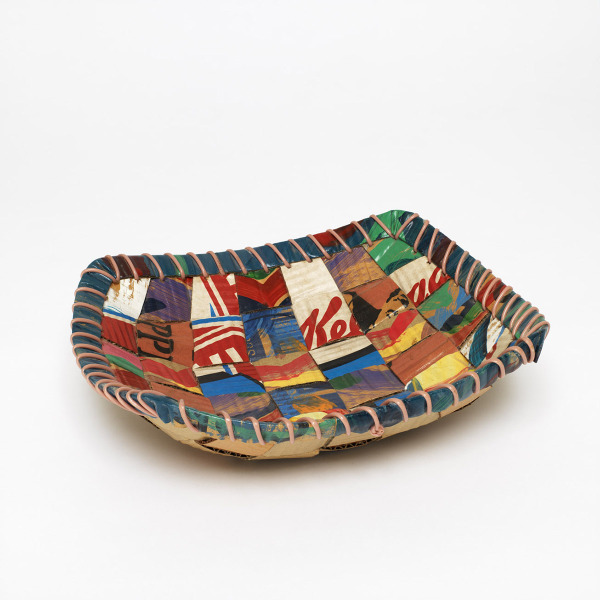 Small Dish, Lois Walpole, 1992-93, Crafts Council Collection: W131. Photo: Todd-White Art Photography.