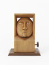 Framed Head, Jan Zalud, 1987, © Jan Zalud, Crafts Council Collection: W79. Photo: Stokes Photo Ltd.