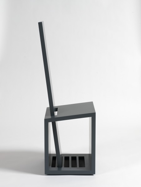 Boxchair #3, Erik de Graaff, 1979, Crafts Council Collection: W33. Photo: Todd-White Art Photography.
