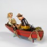 'Joness of Pill' or 'Honeymoon Boat', Sam Smith, 1972 - 1973, Crafts Council Collection: W1c. Photo: Todd-White Art Photography.