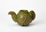 Cabbage Teapot, Jill Crowley, 1974, Crafts Council Collection: P206.1. Photo: Stokes Photo Ltd.