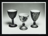 Photograph, Three Goblets by Alan Caiger-Smith, photographer unknown, 1998, Crafts Council Collection: AM305. © Crafts Council