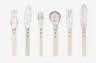 Cutlery, Gunilla Treen, 1974, Crafts Council Collection: M7. Photo: Stokes Photo Ltd