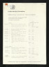 Price List, Jacqueline Mina: Gold Jewellery, Crafts Advisory Committee, 1975, Crafts Council Collection: AM396. © Crafts Council